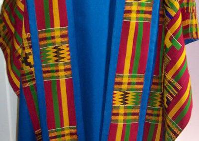 Blue Kente cloth set