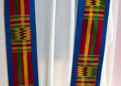 Blue Kente cloth set