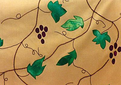 St. Francis, Creation Chasuble, the vine bears fruit