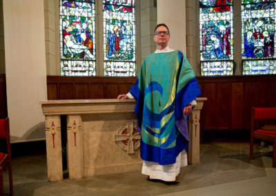 Advent Chasuble - Church of the Anunciation in Israel