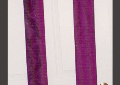 A reversible Lent/Holy Week set thorns with leaves and palms