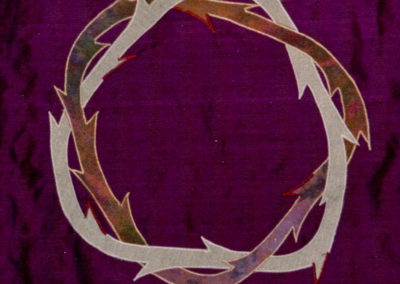Lent Holy Week Reversible Set Pulpit Hanging