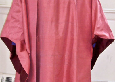 reversible red/rose chasuble and stole