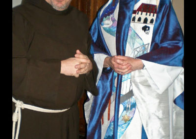 My story - first a Vendantan nun in California to an Episcopalian nun in NJ - from the Golden Gate bridge to the George Washington Bridge and so much more