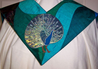 Peacock-and-peahen
