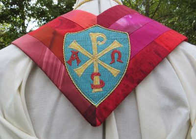 A Priest's stole told in stained glass images