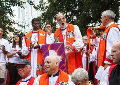 Bishops United Against Gun Violence rally